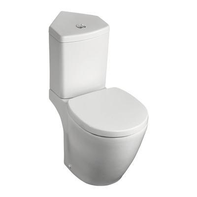 Corner cistern