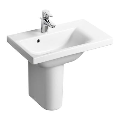 60cm Furniture or Pedestal Basin, Right hand