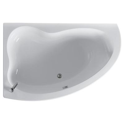 160x105cm Idealform Plus+ Offset Corner Bath, Left Hand