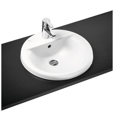 48cm Countertop basin, 1 taphole