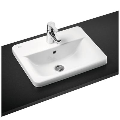 50cm Countertop Washbasin, 1 taphole