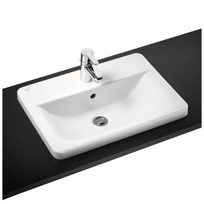 58cm Countertop Washbasin, 2 taphole