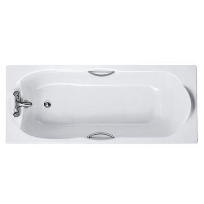 170x70cm Rectangular Bath, 2 tapholes