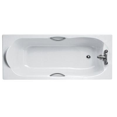 170x70cm Water Saving Bath, 2 tapholes