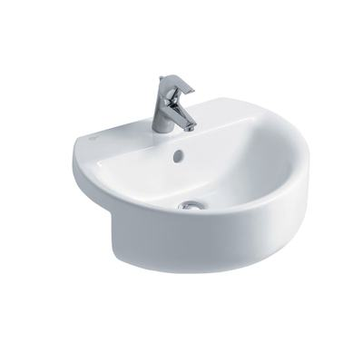 Sphere 55cm Semi-Countertop Washbasin, 1 taphole