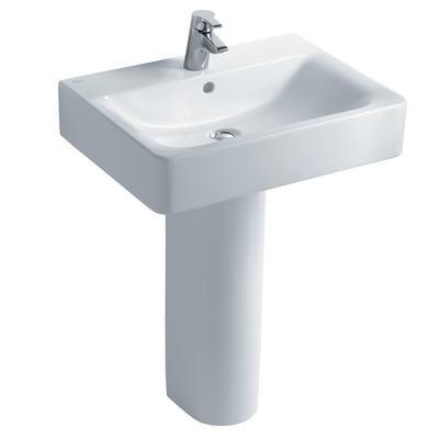 Cube 60cm Washbasin, 1 taphole