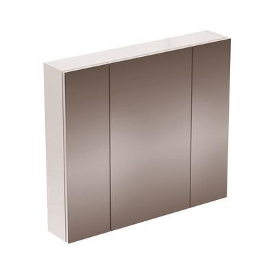 STRADA Зеркальный шкаф с 3 дверцами 80 см