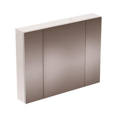 STRADA Зеркальный шкаф с 3 дверцами 90 см
