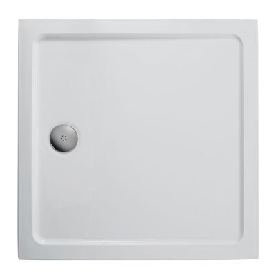 800x800mm Low Profile Shower Tray, Flat Top
