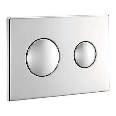 Flush Plate - Chrome