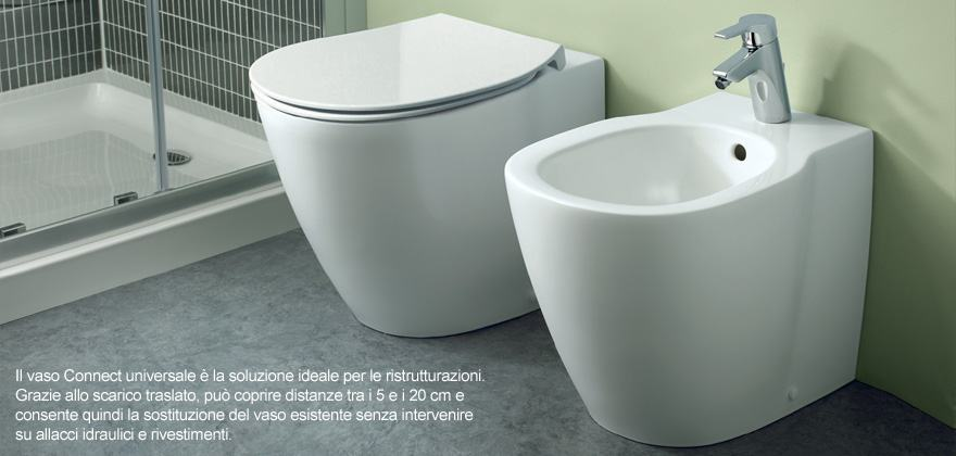 Accessori Sanitari Ideal Standard.Collezione Connect Ideal Standard