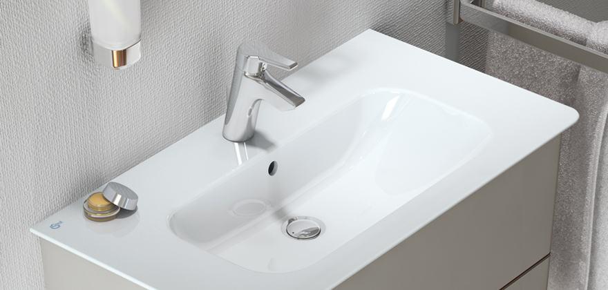 Zona lavabo bagno ideal standard - Misure mobili bagno ...