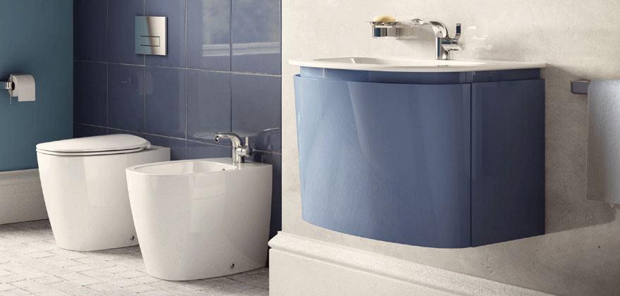 Lavandini bagno e lavabi ideal standard - Misure lavabo bagno ...