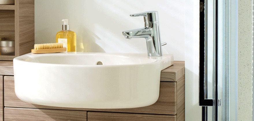 Lavandini bagno e lavabi ideal standard - Lavabo bagno semincasso ...