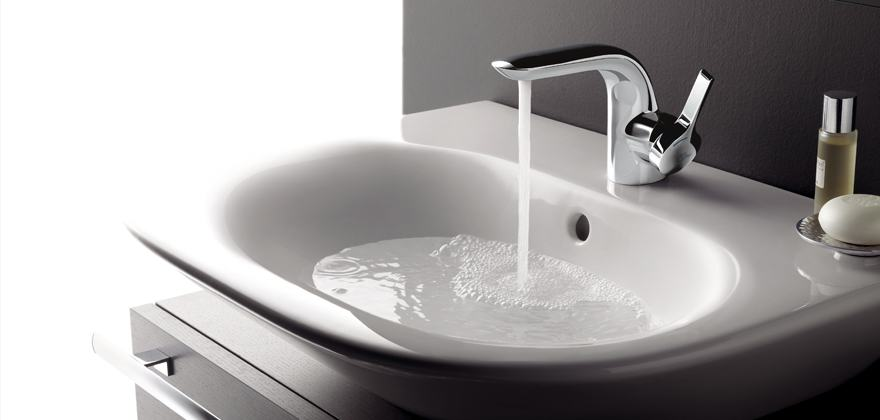 White Bathroom Taps bathroom taps & mixers | ideal standard