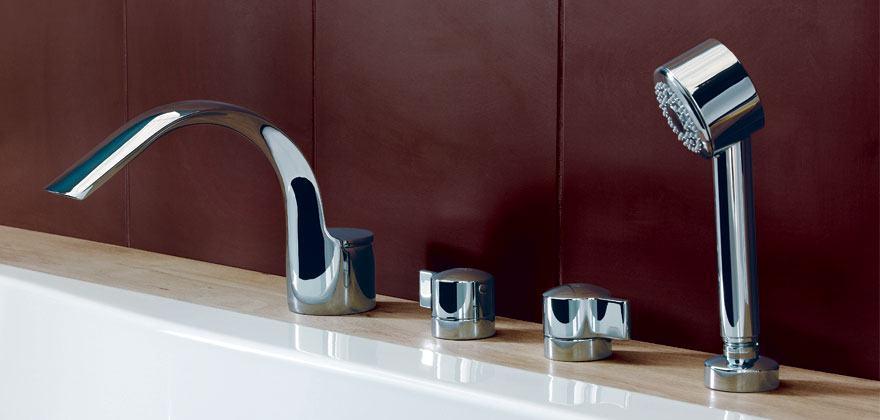 Miscelatore Vasca Da Bagno Con Doccia.Miscelatori E Rubinetti Per Vasca Da Bagno Ideal Standard